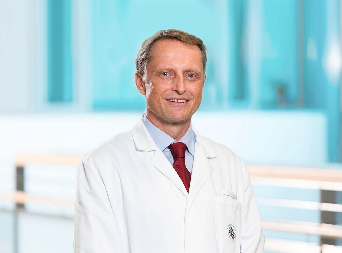 Georg Spaun ist Leiter des Endoskopie-Zentrums im Krankenhaus der Barmherzigen Schwestern in Linz.